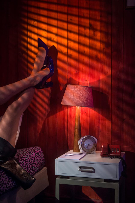 FARO | Nicholas Kirkwood Motel Room